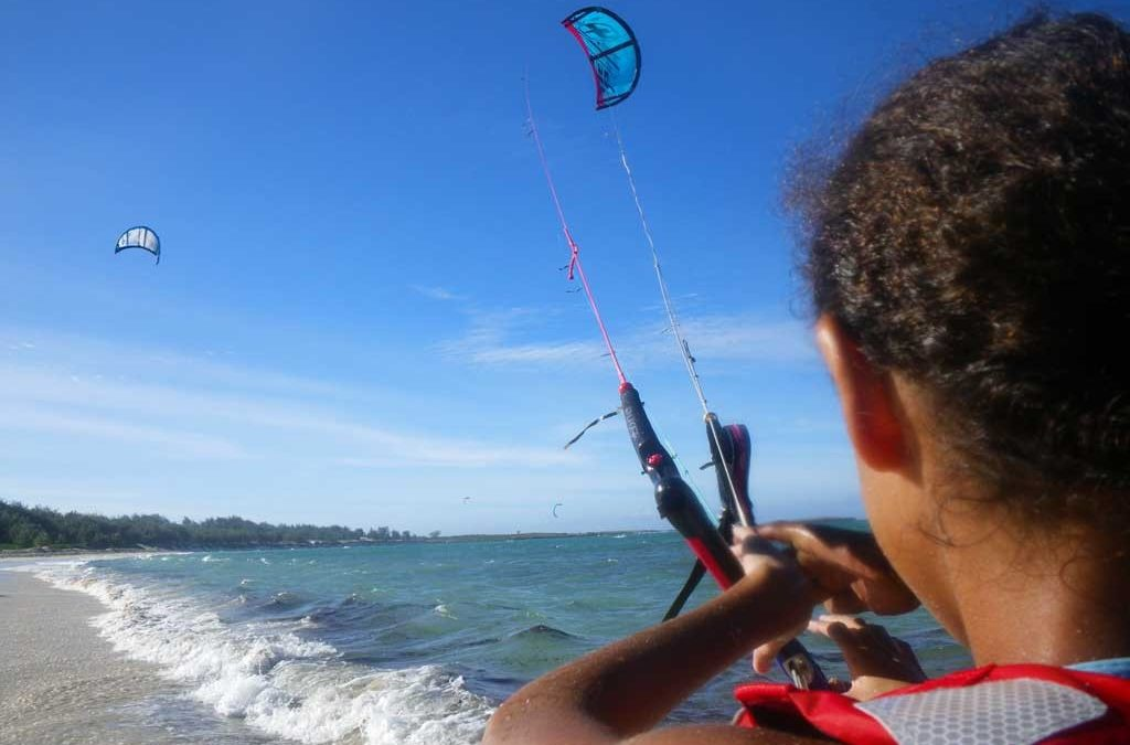 kitesurf debutant